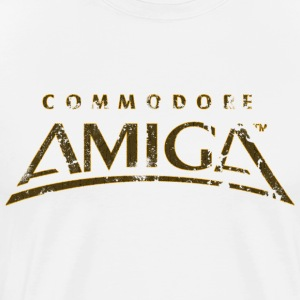 Commodore Amiga Vintage T Shirt - Men's Premium T-Shirt