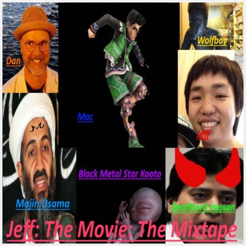 jeff: The Movie: The Mixtape - Men's Premium T-Shirt