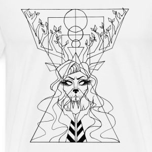 Queen of the wild - Men's Premium T-Shirt