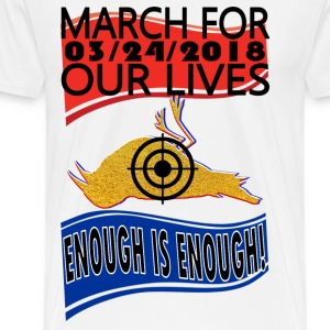Washington Youth March For Our Lives 3-24-2018 - Men's Premium T-Shirt