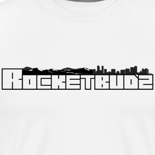 RocketBudz Colorado Skyline - Men's Premium T-Shirt