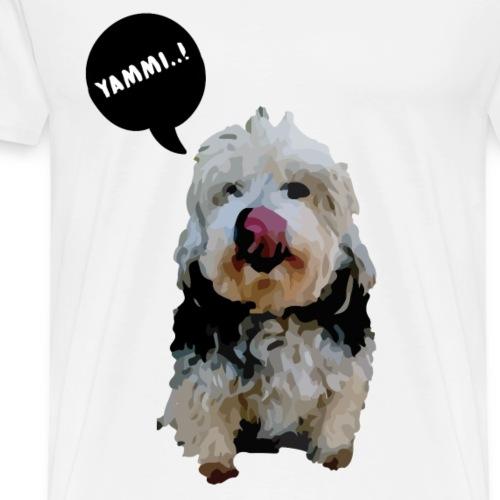 Lucy the dog..! - Men's Premium T-Shirt