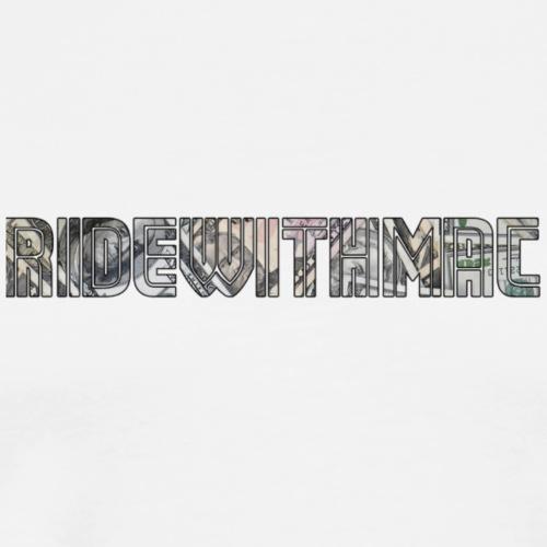 ridewithmac - Men's Premium T-Shirt