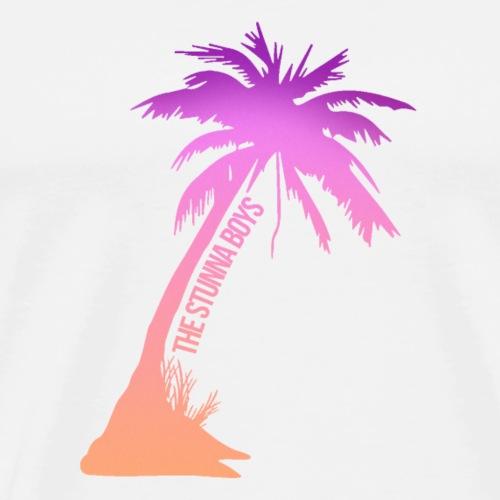 Stunna Palm Tree - Men's Premium T-Shirt