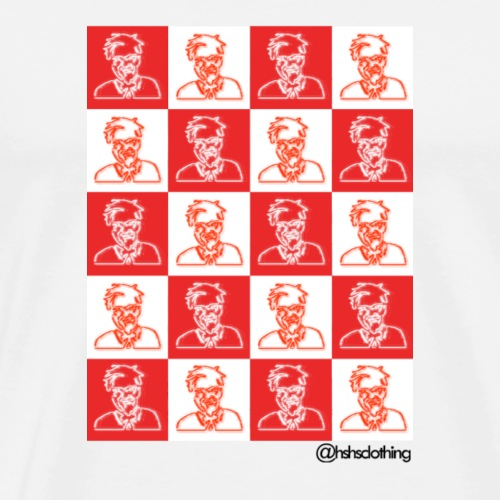 KFC checkerboard - Men's Premium T-Shirt