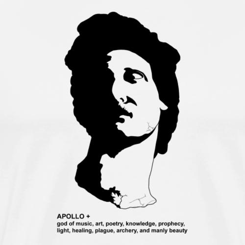 APOLLO + V2 - Men's Premium T-Shirt