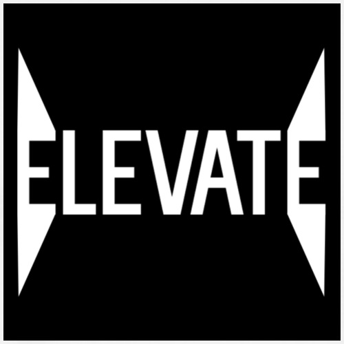 MOYER. - ELEVATE // SPIKED BLACK. - Men's Premium T-Shirt