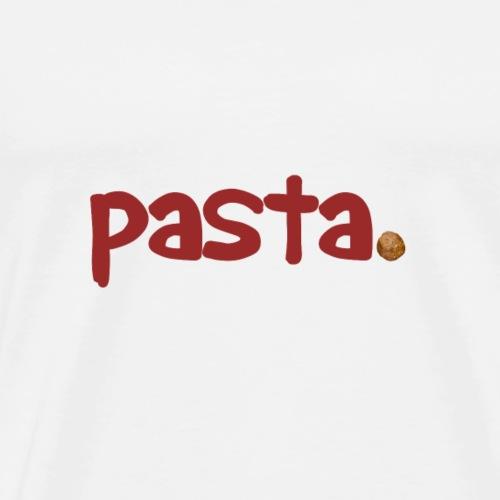 pasta - Men's Premium T-Shirt