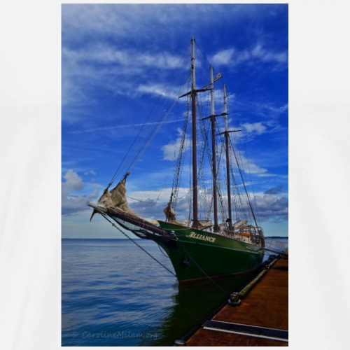Sail Away with me - Men's Premium T-Shirt