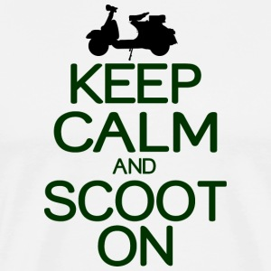 Keep calm and scoot on - Men's Premium T-Shirt