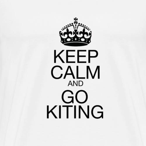KEEP CALM and GO KITING - Men's Premium T-Shirt