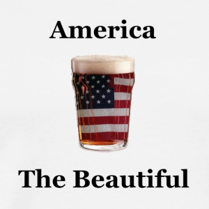 america the beautiful - Men's Premium T-Shirt