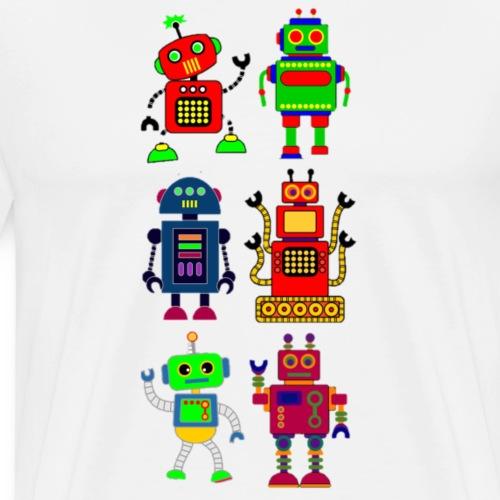 robots - Men's Premium T-Shirt