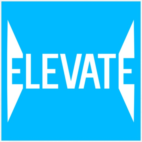 MOYER. - ELEVATE // SPIKED BLUE. - Men's Premium T-Shirt
