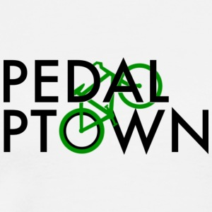 Pedal Ptown logo - Men's Premium T-Shirt