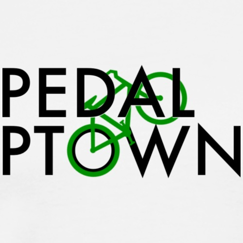 Pedal Ptown logo - Men's Premium T-Shirt
