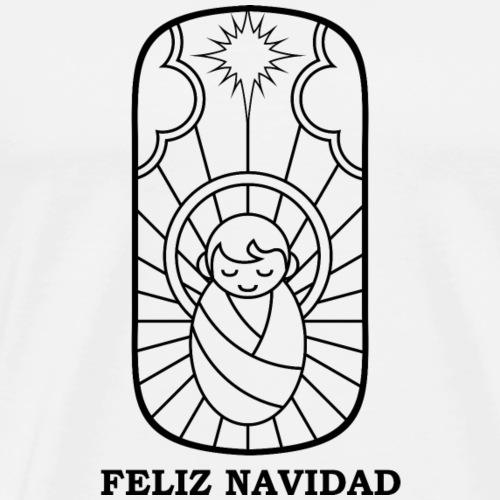 feliz navidad - Men's Premium T-Shirt