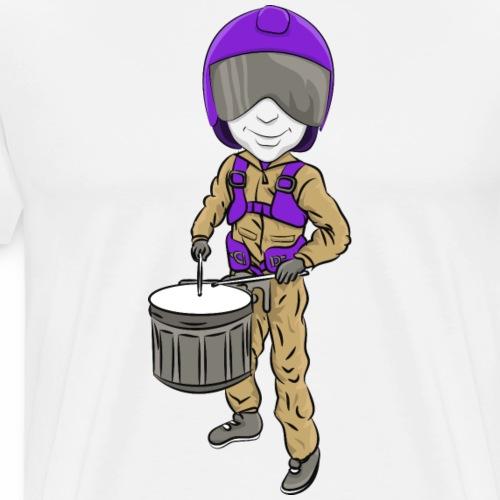 Aviators Mascot Marching Band - Men's Premium T-Shirt