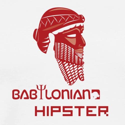 Babylonian Hipster - Men's Premium T-Shirt
