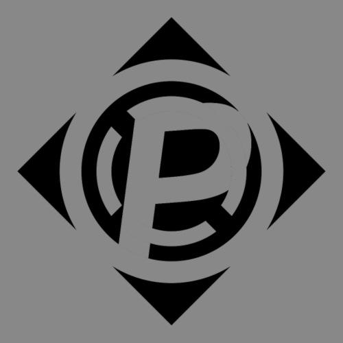 Purrfect Accuracy Logo plain Black - Men's Premium T-Shirt