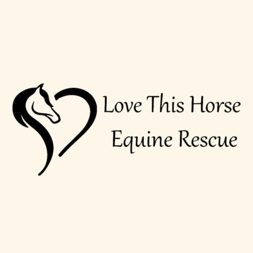 Love This Horse Equine Rescue - Men's Premium T-Shirt