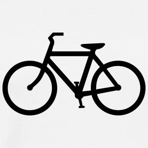 Regulatory - Bike Lane - Men's Premium T-Shirt