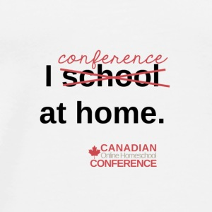 Canadian Homeschool Conference Mug - Men's Premium T-Shirt