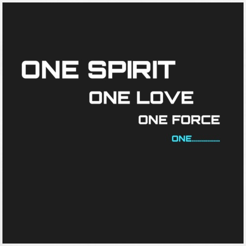 ONE SPIRIT 2 (black) - Men's Premium T-Shirt