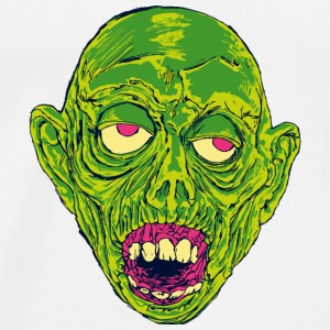 Graveyard Ghoul Slime Green - Men's Premium T-Shirt