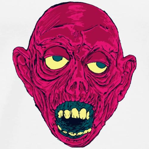 Graveyard Ghoul Putrid Pink - Men's Premium T-Shirt