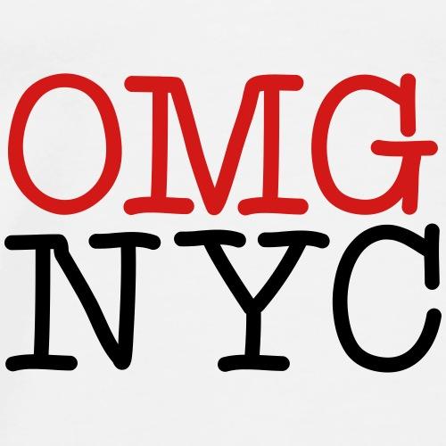 OMG NYC Graphic - Men's Premium T-Shirt