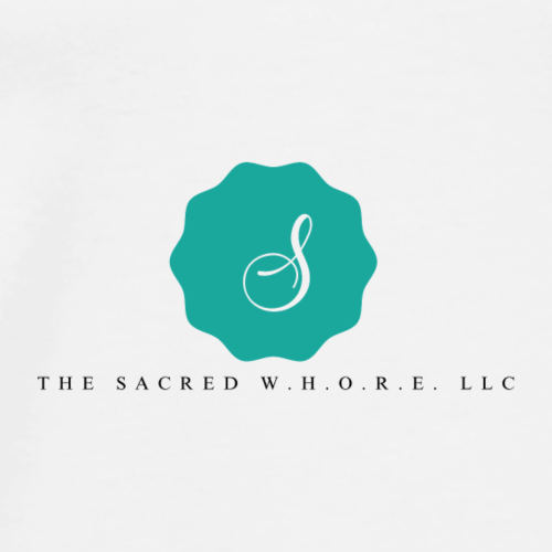 The Sacred W.H.O.R.E. LLC (Logo2) - Men's Premium T-Shirt