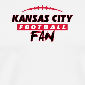 Kansas City football fan - Men's Premium T-Shirt