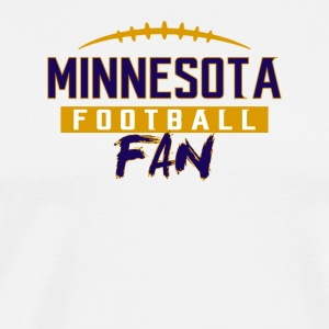 Minnesota Football Fan - Men's Premium T-Shirt