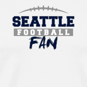 Seattle Football Fan - Men's Premium T-Shirt
