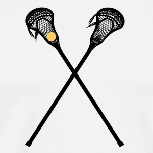 Lacrosse is a fun sport - Men's Premium T-Shirt