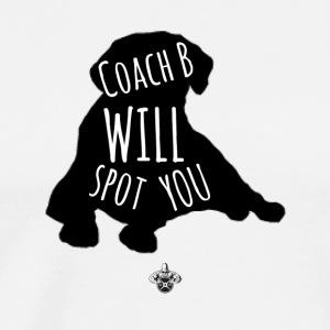 Coach B - Men's Premium T-Shirt