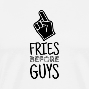 Fries before Guys - The forever alone - Shirt - Men's Premium T-Shirt
