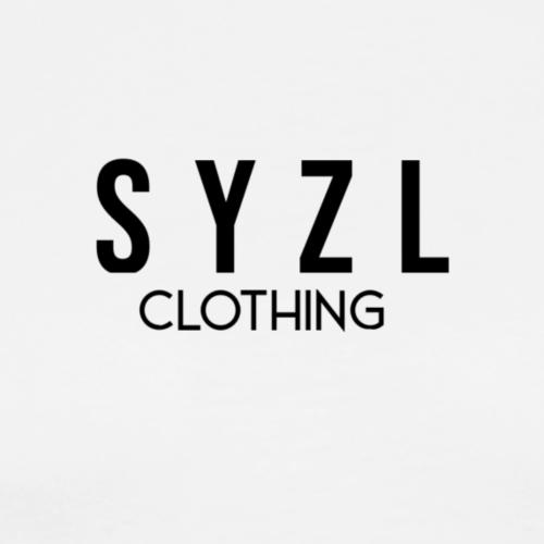 SYZL Clothing Text-2 Black - Men's Premium T-Shirt