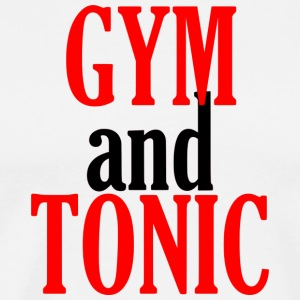 Gym and Tonic - Men's Premium T-Shirt
