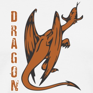 back_of_dragon_dolor - Men's Premium T-Shirt