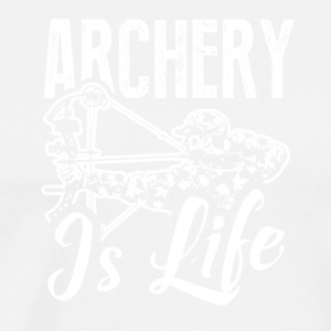 Archer Is Life Tee Shirt - Men's Premium T-Shirt