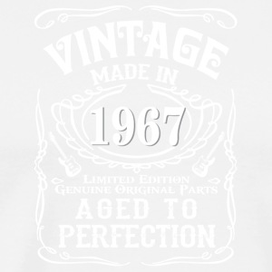 Vintage Made in 1967 Genuine Original Parts - Men's Premium T-Shirt