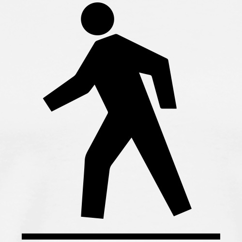 Pedestrian crossing - Men's Premium T-Shirt
