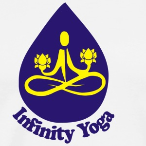 infinity yoga - Men's Premium T-Shirt