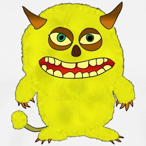 Plushy Yellow Monster Isle - Men's Premium T-Shirt