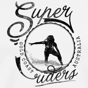 super_surfer_black - Men's Premium T-Shirt