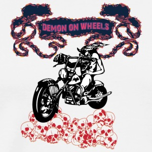 DEMON_ON_WHEELS_RED - Men's Premium T-Shirt