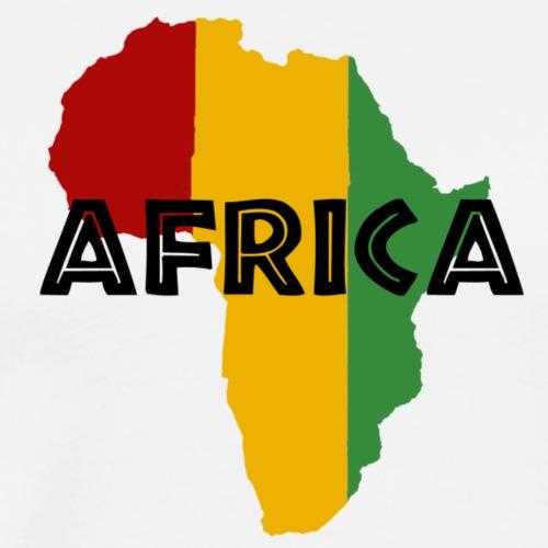 Africa Rasta - Men's Premium T-Shirt