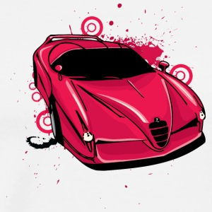 Red_bugatti - Men's Premium T-Shirt